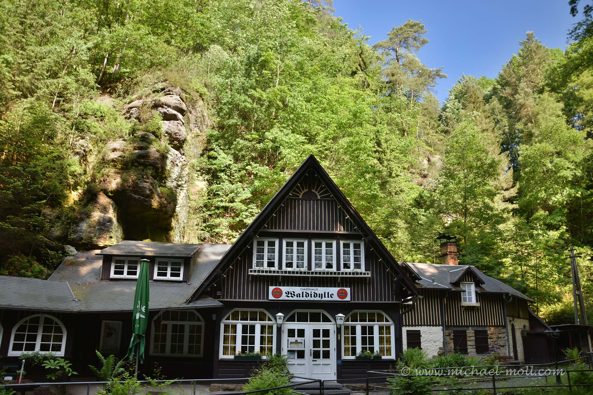 Gaststätte im Uttewalder Grund
