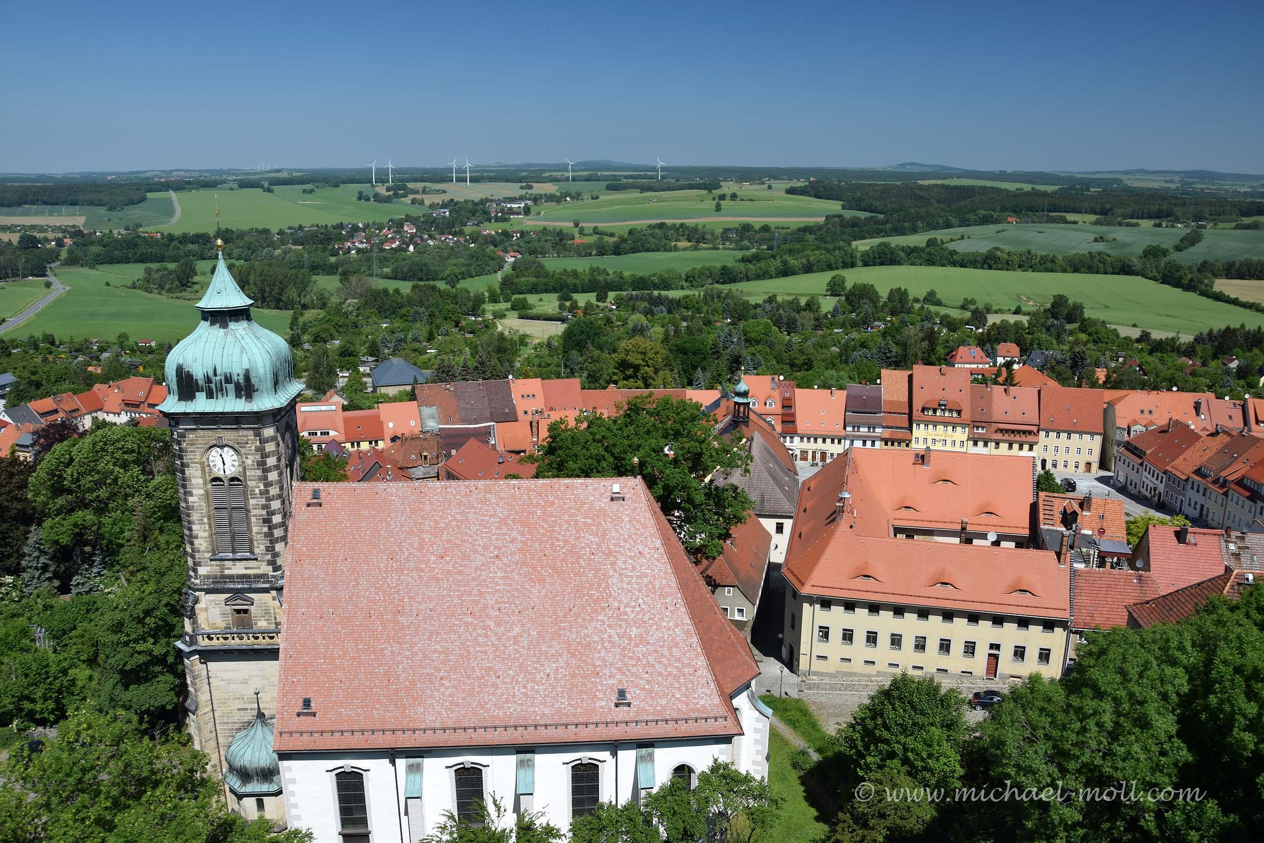 Kirche in Stolpen
