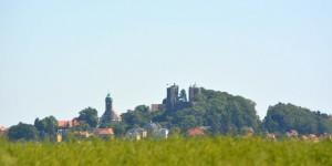 Burg Stolpen aus der Ferne