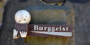 Der Burggeist von der Burg Stolpen