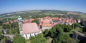 Aussicht von der Burg Stolpen