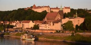 Abendstimmung am Schloss Pirna
