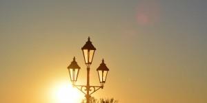 Sonnenuntergang in Pirna