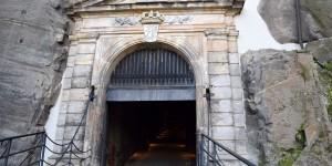 Burgtor der Festung Königstein