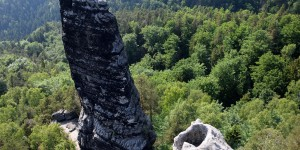 Felsen in Tschechien