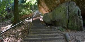 Die ersten Treppen