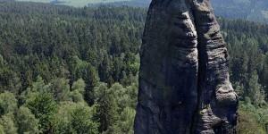 Barbarine im Elbsandsteingebirge