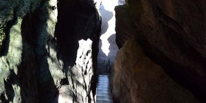 Felsen auf dem Pfaffenstein
