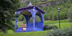 Holzpavillon in Hammerfest