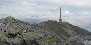 Gipfel des Gaustatoppen