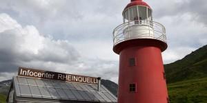 Leuchtturm an der Rheinquelle