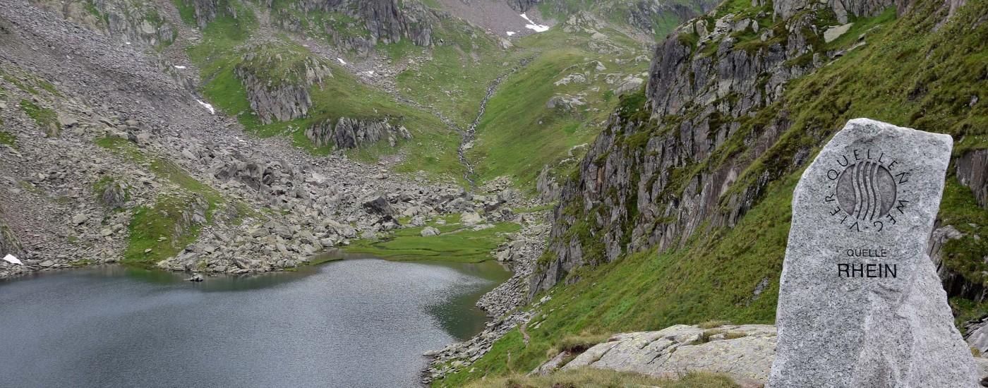 Der Tomasee gilt als Rheinquelle