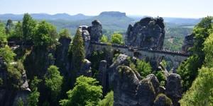 Bastei im Elbsandsteingebirge