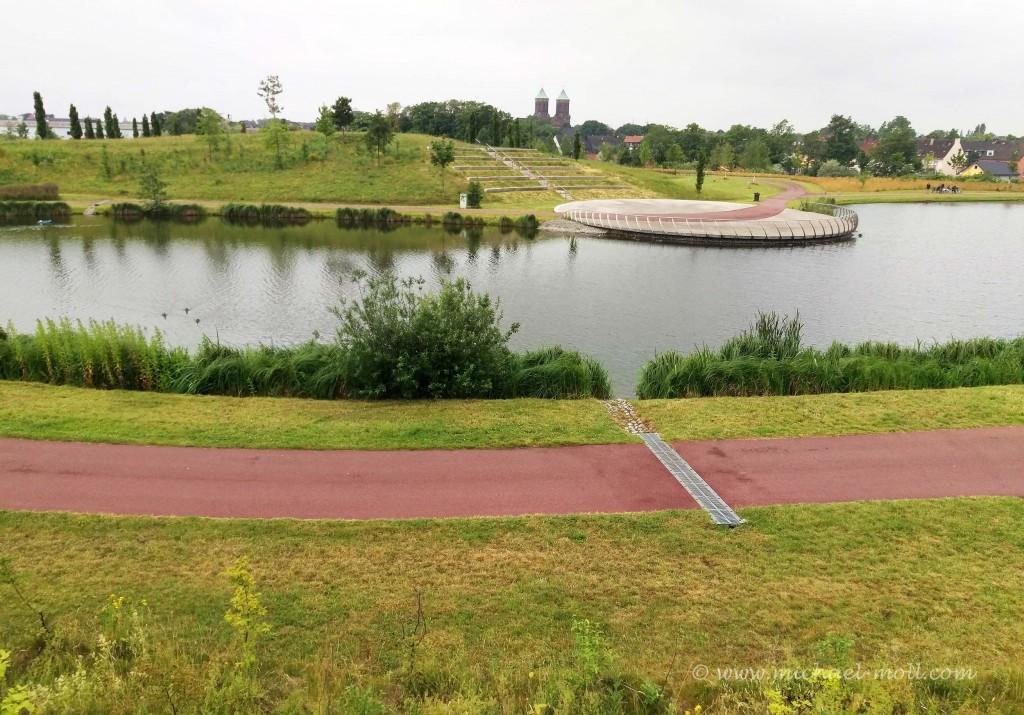 Kleiner See im Krupp-Park