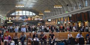 Bahnhof von Stockholm