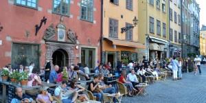 Cafes auf dem Stortorget