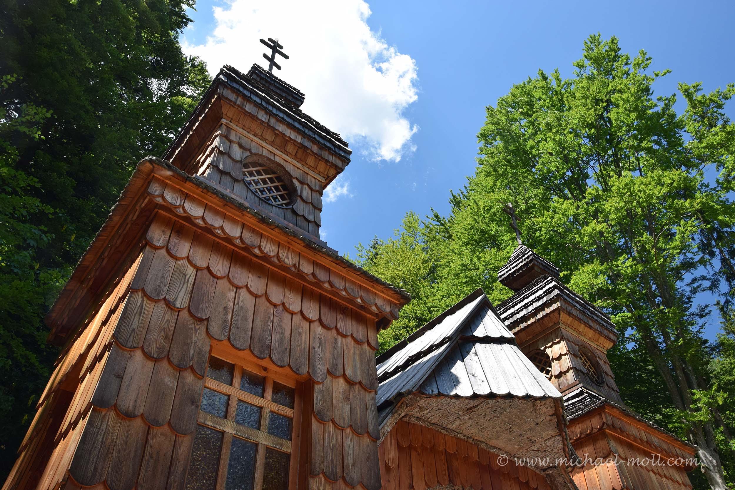 Hölzerne Russische Kapelle