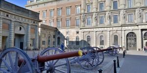 Kanonen am Schloss