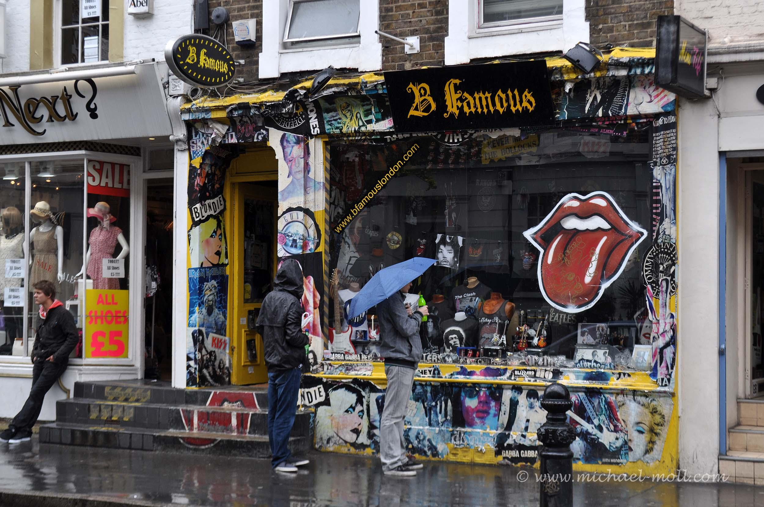 Geschäft auf der Portobello Road