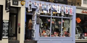 Typisches Geschäft in Notting Hill