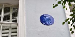 Hier lebte George Orwell