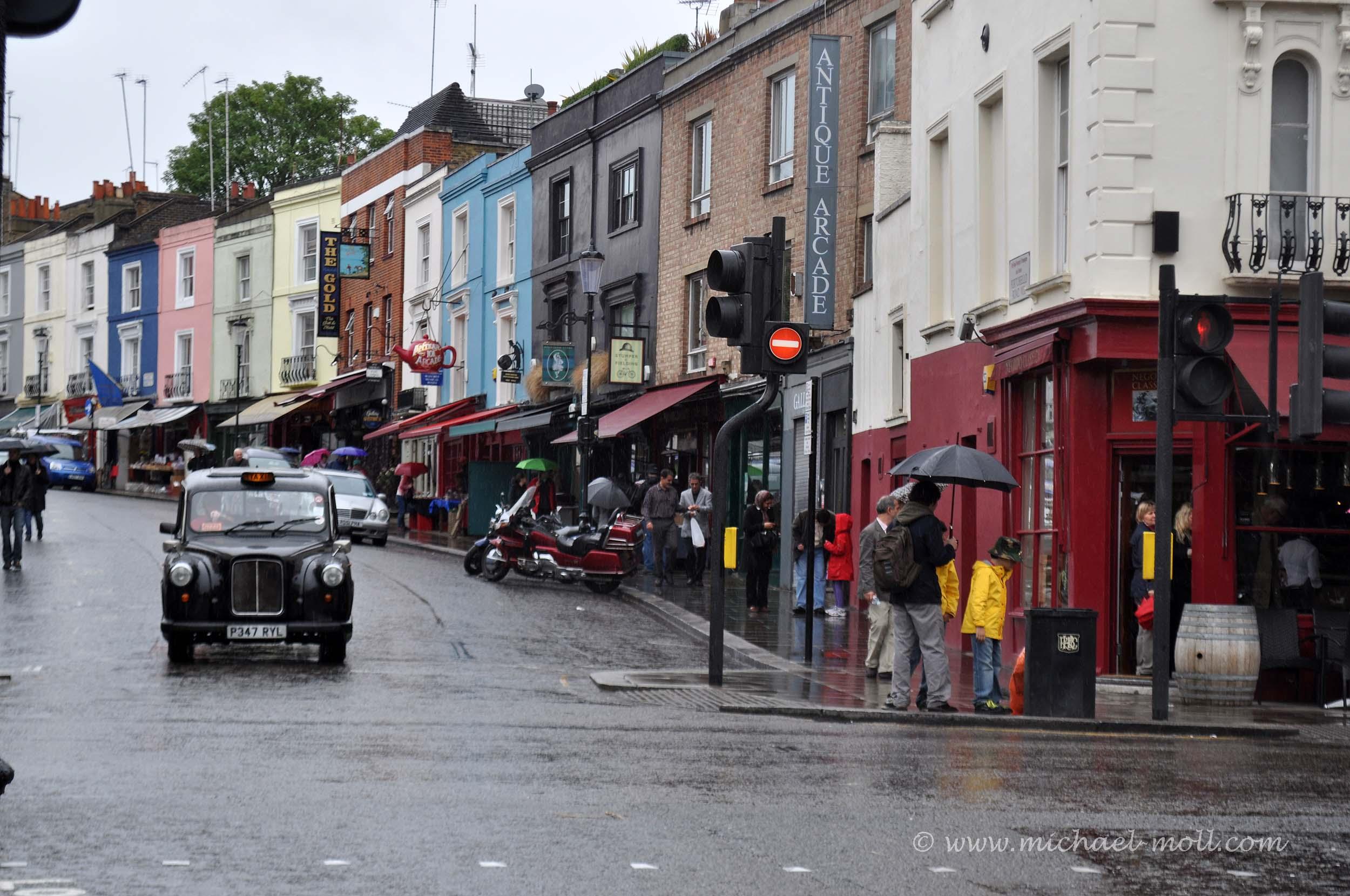 Straße in Notting Hill