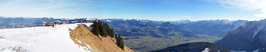 Panorama auf der Rossfeldhöhenstraße (4 MB, 10499x2285 Pixel)