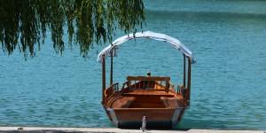 Pletna auf dem Bleder See