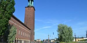 Stadshus ist das Rathaus von Stockholm