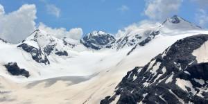 Alpenlandschaft am Stilfser Joch