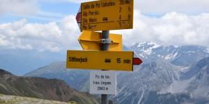Wanderwege in den Alpen