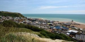 Blick auf Hastings