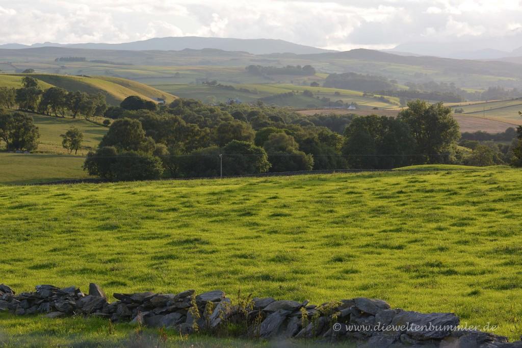 Ausblick zum Snowdonia Nationalpark