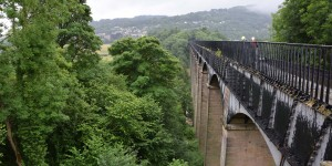 Pontcysyllte Aquädukt in Wales