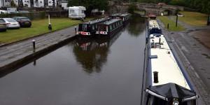 Kleiner Hafen am Kanal