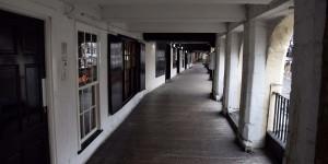 Kolonnaden in Chester