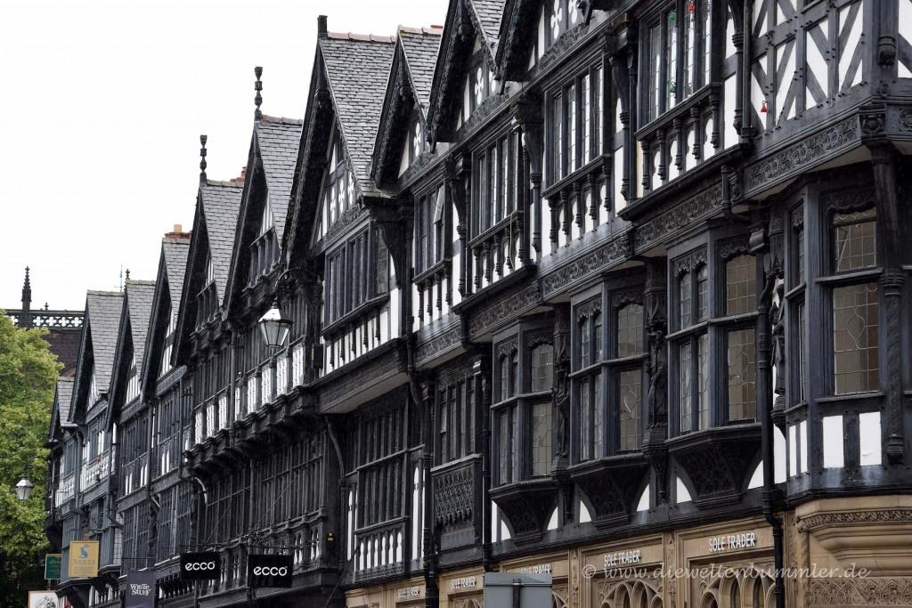 Fachwerkhäuser in Chester