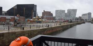 Hafen von Liverpool