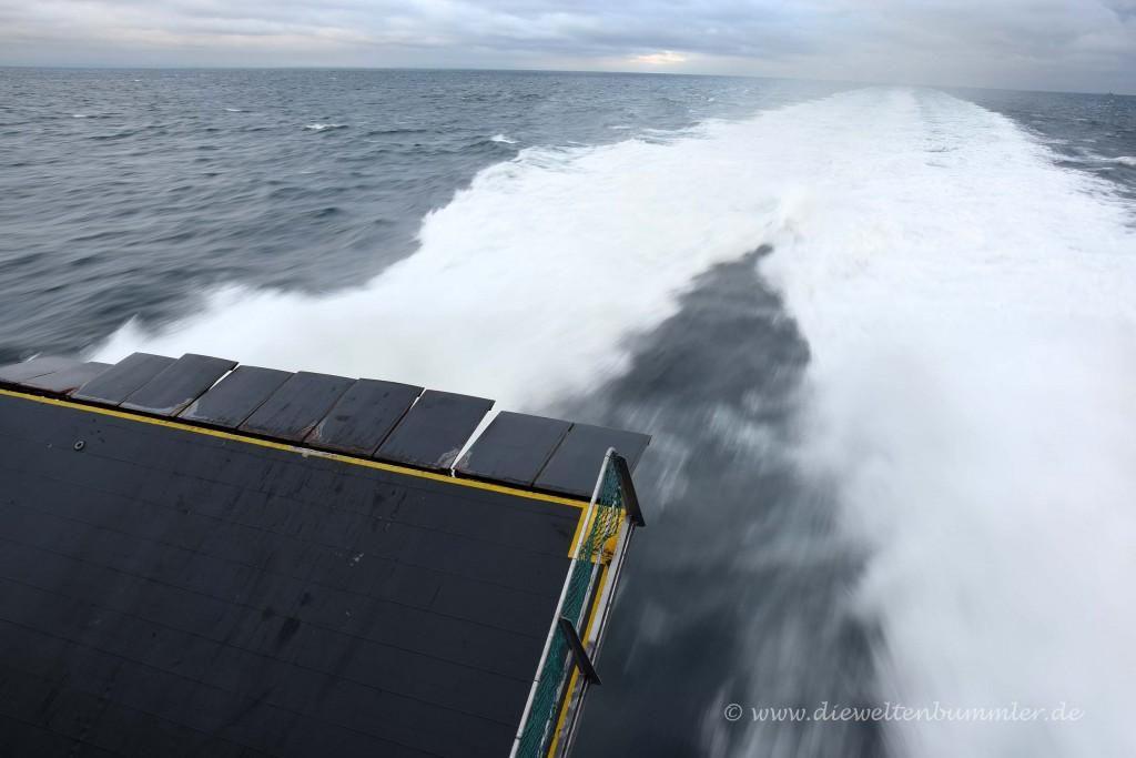 Schnellboot zur Isle of Man