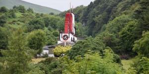 Laxey Wheel auf der Isle of Man