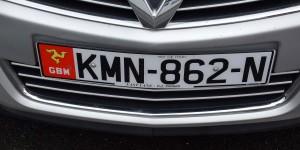 Autokennzeichen der Isle of Man