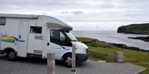 Wohnmobil auf der Isle of Man