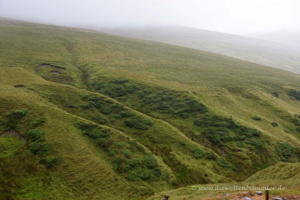 Landschaft der Isle of Man