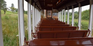 Offene Straßenbahn