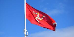 Flagge der Isle of Man