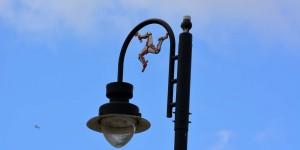 Lampe mit Triskele