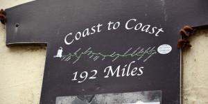 Von Küste zu Küste wandern