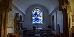 Fenster von Chagall in Tudeley