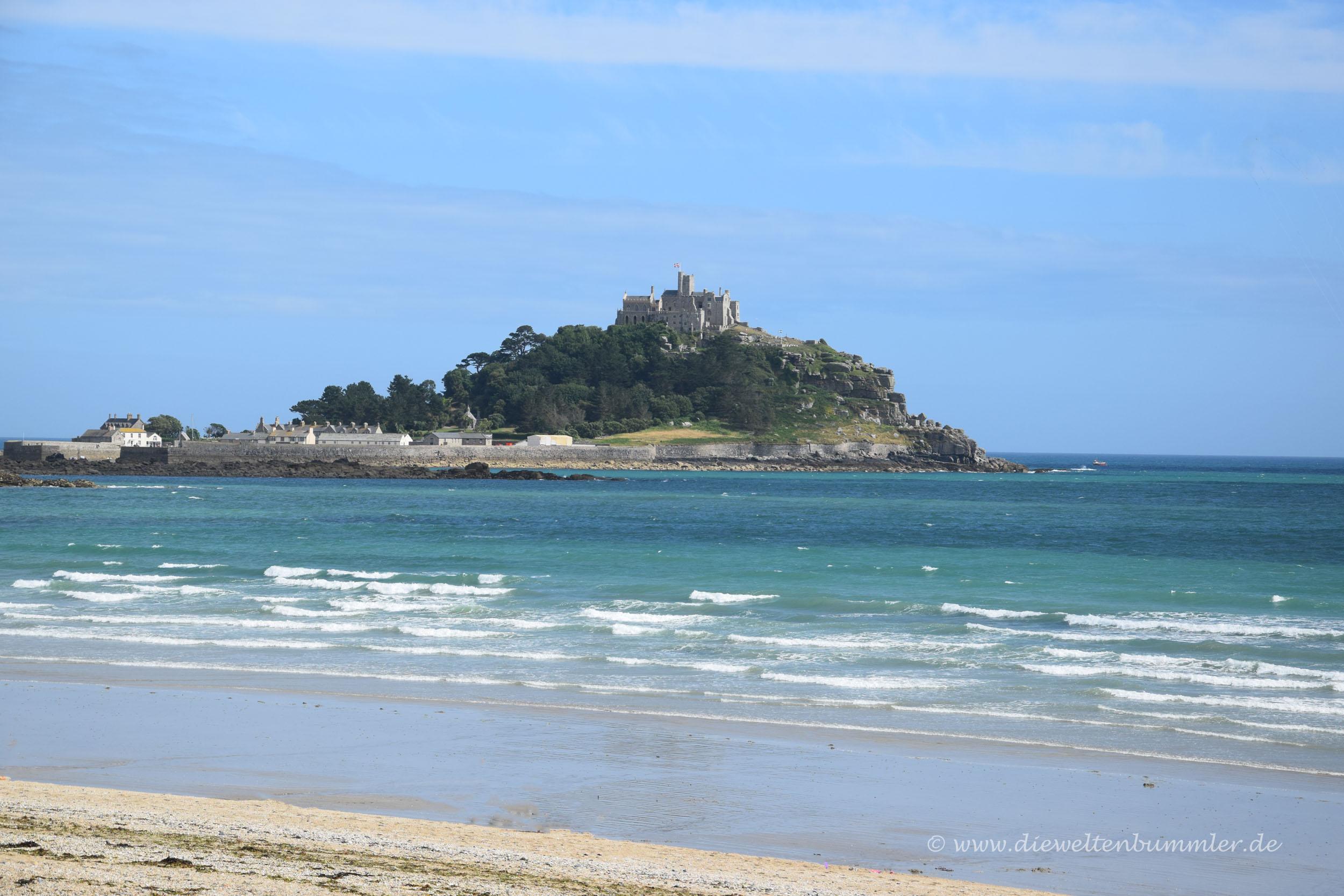 Am Strand von Cornwall