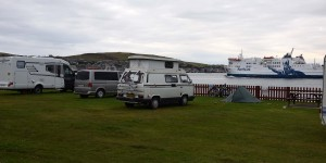 Camping in Stromness